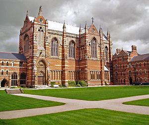 Egerton Bagot Byrd Levett-Scrivener - Keble College, Oxford, where retired RN Capt. Levett-Scrivener served as Bursar