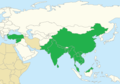 Ketupa zeylonensis Range.png