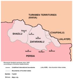 Khurasani kurdish exclave 1835.png
