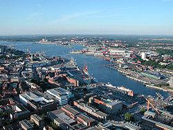 Port facilities.
