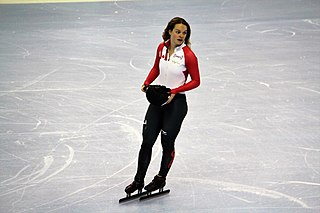 Kim Boutin Canadian sportsperson and short track speed skater