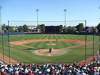 Jerry Kindall Field at Frank Sancet Stadium college baseball stadium in Tucson, Arizona