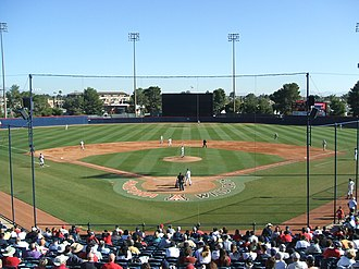 Arizona Wildcats baseball - Kindall Field where the Wildcats played baseball until 2012, when they relocated to nearby Hi Corbett Field
