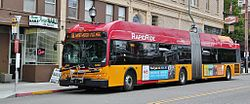 King County Metro Rapid Ride New Flyer DE60LFR 6060.JPG