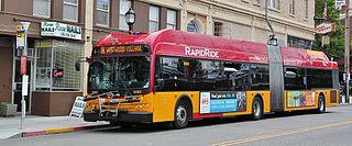 Bus rapid transit system in Seattle, Washington