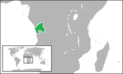 Location of Kongas