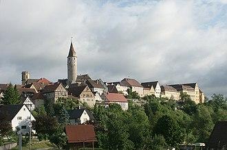 Kirchberg an der Jagst - The old town of Kirchberg