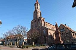 Kirche St. Ulrich im Stadtteil Mörsch