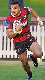 Kirisome Auvaa Samoan-New Zealand-Australian rugby union and rugby league footballer