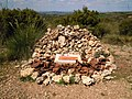 Kit Conway memorial cairn at the site of Suicide Hill, Jarama Battlefield 17 April 2014 (1).JPG