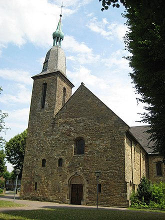 Georgsmarienhütte - Church of the former convent Kloster Oesede