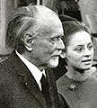 Kodály Zoltán és felesége a Zeneakadémián.JPG