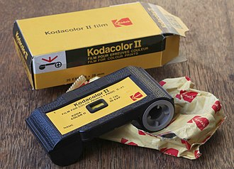 Kodak - Kodacolor II 126 film cartridge, expiring date 1980