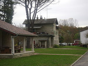 Parenzana - Railway station Livade