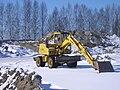 Komatsu excavator in Jyväskylä.JPG