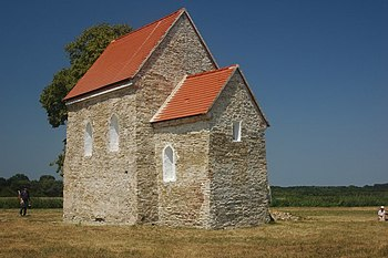 Church in Kopčany, the last remaining Great Moravian building