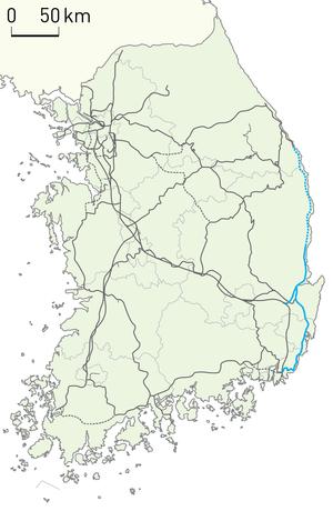 Donghae Line - Image: Korail Donghae Line