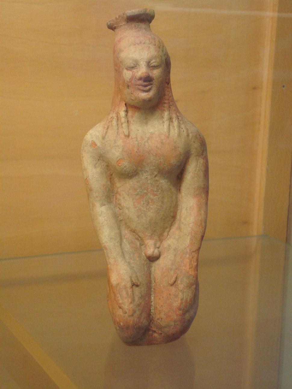 Kouros greco, 550 aC, da Selinunte - Foto di G. Dall'Orto