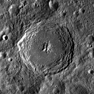 Kovalevskaya (crater) - LRO image