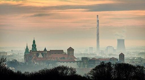 Krakow Wawel i Leg przed wschodem Slonca
