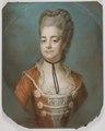 Kristina Augusta von Fersen, 1754-1846, gift med Fredrik Adolf Löwenhielm - Nationalmuseum - 39230.tif