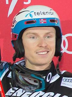 Henrik Kristoffersen Norwegian alpine skier