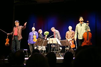 Kronos Quartet - Greeting the audience after a 2005 performance