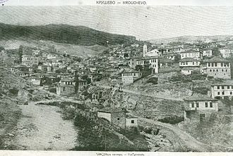 Kruševo - An old photograph of Kruševo