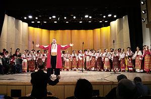 Kuban Cossack Choir - Kuban Cossack Choir performing at Gnessin Russian Academy of Music, 2013