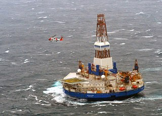 Drill rig operated in the Canadian Arctic and Alaska. Run aground in 2012. Built 1983