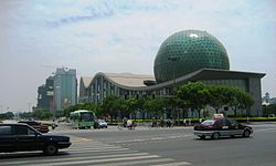 Centre of Kunshan