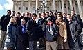 Kyrsten Sinema with students from Brophy College Prep in 2014. 01.jpg