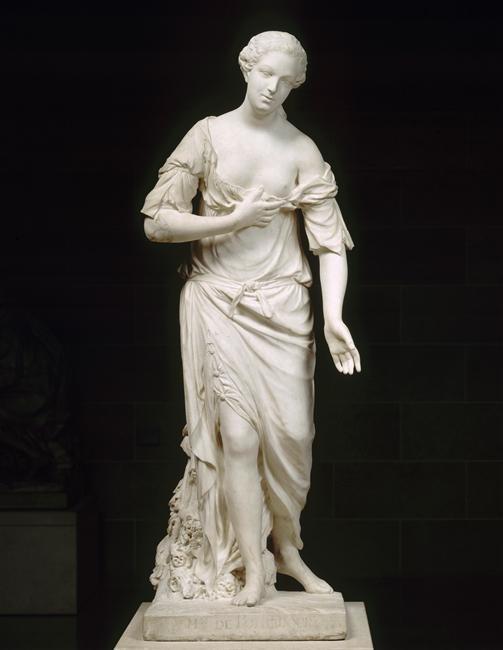 L'Amitié sous les traits de Mme de Pompadour Pigalle Louvre