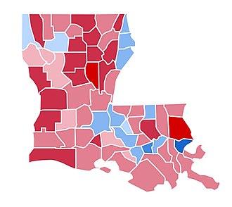 United States presidential election in Louisiana, 2000 - Image: LA2000