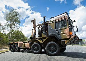 RMMV HX range of tactical trucks - Image: LAND 121 vehicle