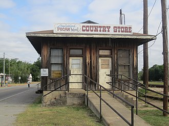 Colfax, Louisiana - The Louisiana Pecan Festival Country Store is activated during the annual festival the first weekend of November.