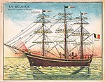 La Belgica educational plate ca 1900.jpg