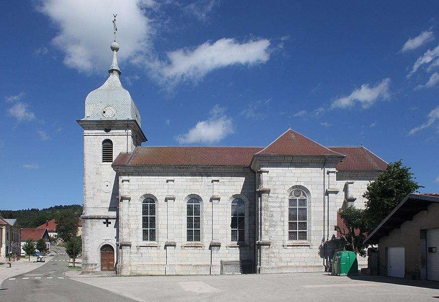 Église de La Chaux (Doubs).