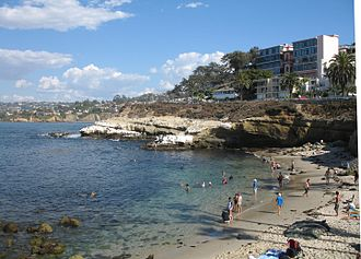 La Jolla Cove - A view of La Jolla Cove from the south end, September 2006