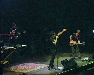 Lo Nuestro Award for Rock/Alternative Album of the Year - Chilean band La Ley (pictured in 2005), winners in 2002 and 2004.