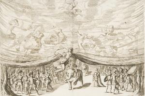 Ludovico Ottavio Burnacini - Image: La Monarchia Latina Trionfante set design by Burnacini