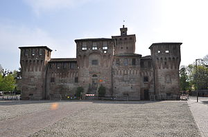 Cento - Castle (Rocca) of Cento.