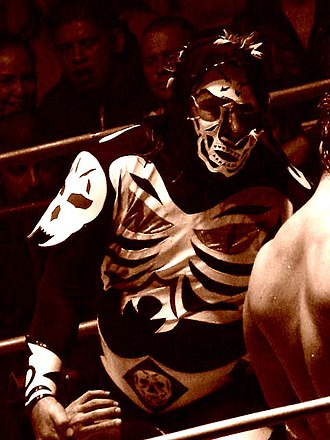 La Parka - La Parka during a wrestling match
