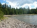 Lac Matapédia - Plage du chalet à Soucy.JPG