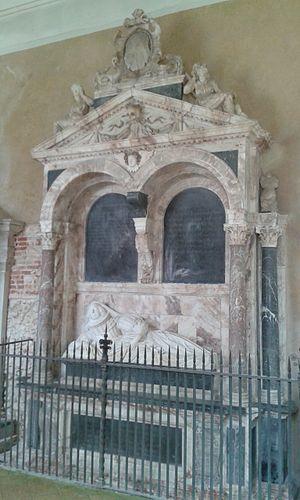 Paston, Norfolk - Tomb of Lady Katherine Paston, by Nicholas Stone