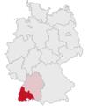 Lage des Regierungsbezirkes Freiburg in Deutschland.png