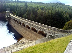 British Aluminium - The Laggan Dam was constructed in 1934 to provide hydro-electric power for refining aluminium