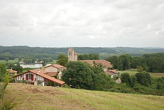 Lahonce - A general view of Lahonce