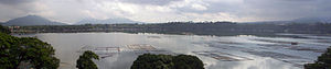 Lake Sampaloc - Panorama of the lake