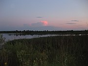 Laktyshy lake Belarus 2009 AD evening.JPG
